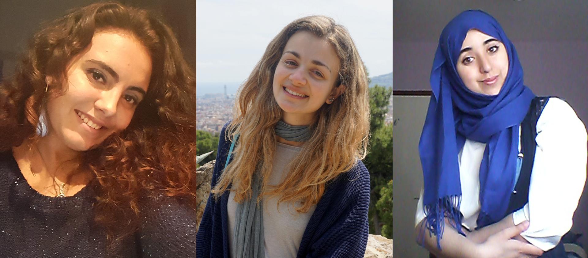 Mariem Haida, Irene Rosadi, Elena Sesoldi