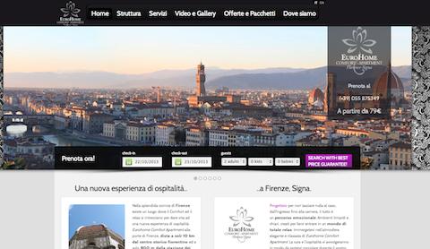 EuroHome Comfort Apartment Website