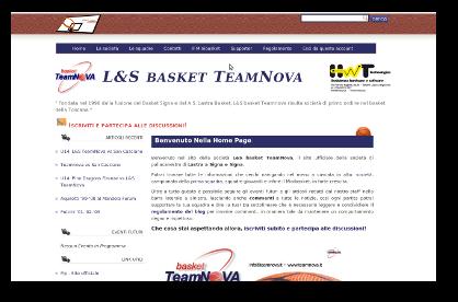Basket Teamnova Website