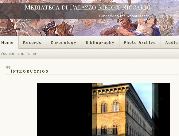 Mediateca di Palazzo Medici Riccardi