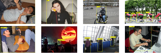 Human action recognition in still images