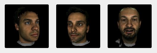 face 3D dataset