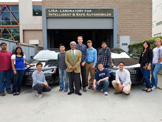 Laboratory for Intelligent and Safe Automobiles University of California at San Diego