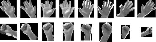 Hand pose dataset