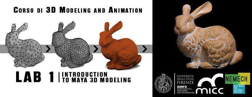 3D Modeling and Animation course at Nemech
