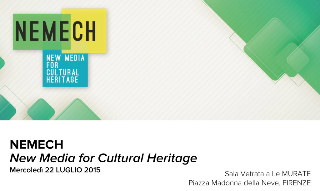NEMECH, New Media for Cultural Heritage