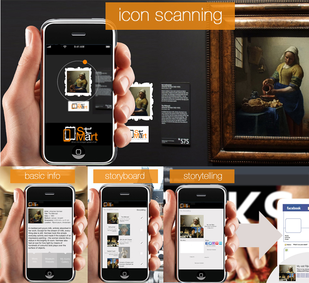 SmartArt App | Access to Multimedia Information and share