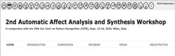W3AS 2020 – Automatic Affect Analysis and Synthesis Workshop 2020