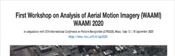 WAAMI- Workshop on Analysis of Aerial Motion Imagery
