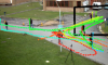 Non-myopic information theoretic sensor management of a single pan-tilt-zoom camera for multiple object detection and tracking