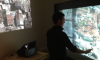 Indoor and outdoor profiling of users in multimedia installations